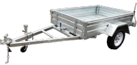 6x4 trailer Skip capacity