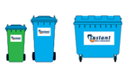 Rear lift bins