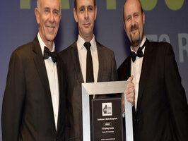 ResizedImage266304 MBA Pact wins award Jason Orso collects