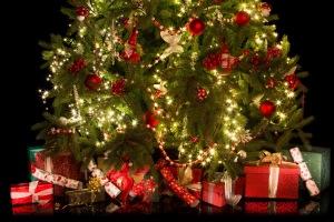 Christmas Gifts Around Tree