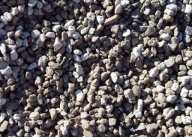 Close up of aggregate stones