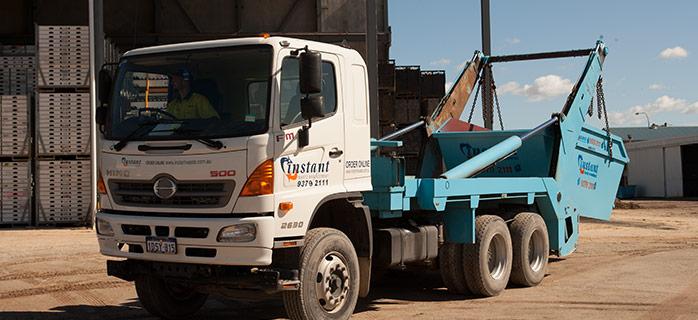 Instant Waste bin truck