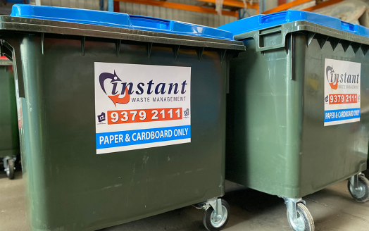 Paper and Cardboard bin
